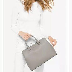 Michael Kors Savannah Leather Satchel Bag Purse
